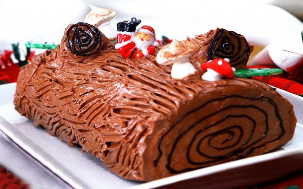 Receita de rocambole de Natal (Imagem: Reprodução/Receitas sem Fronteiras)