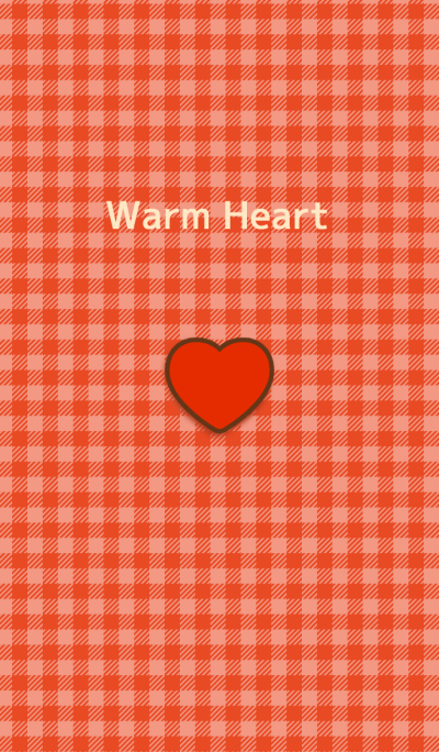 Warm Red Heart