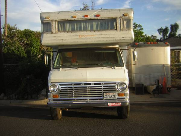used rvs 1970 ford motorhome for sale for sale by owner. Black Bedroom Furniture Sets. Home Design Ideas