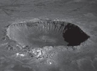 Kawah meteorit di Arizona