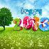 Mooie lente achtergrond 2013