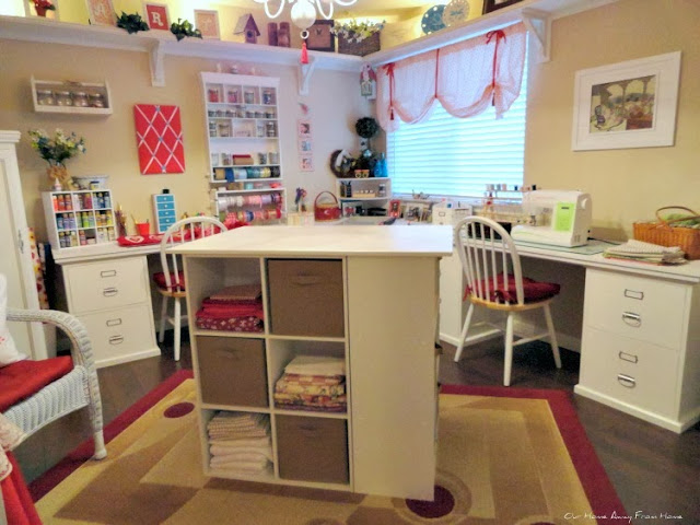 MORE WORK SPACE IN MY CRAFT ROOM