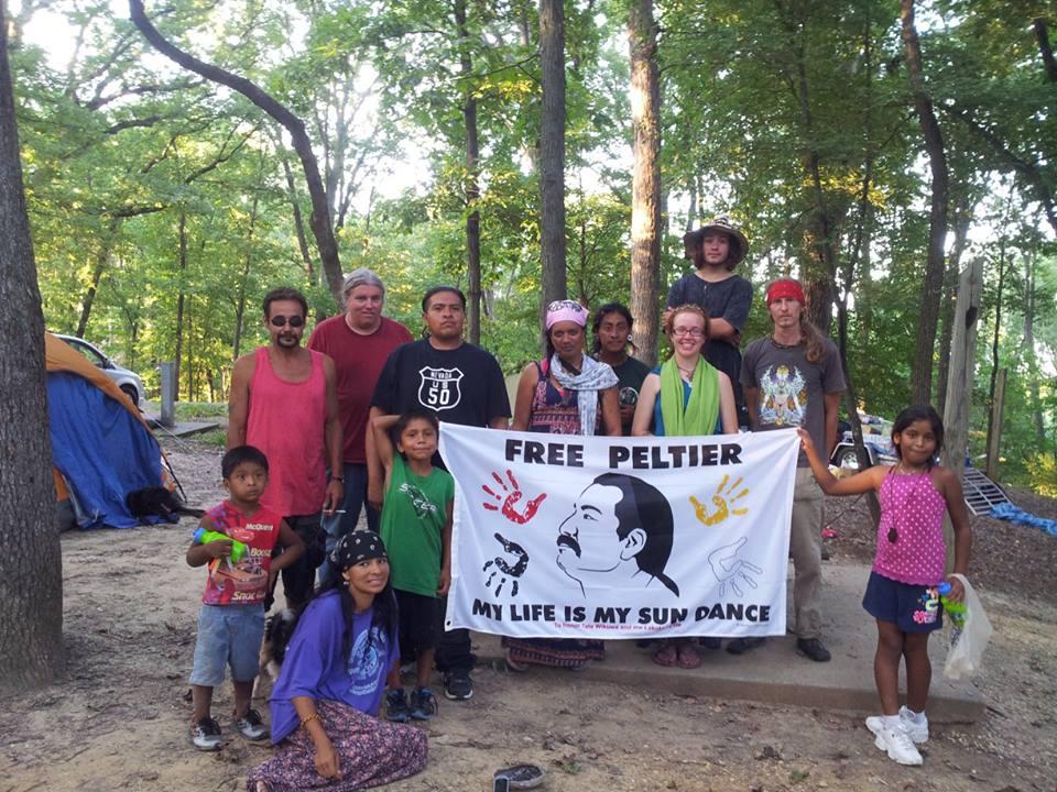 CENSORED NEWS: Leonard Peltier Inspires Native American Long