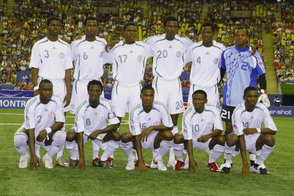 Formación de Nigeria ante Chile, Copa del Mundo Sub-20 Canadá 2007, 15 de julio