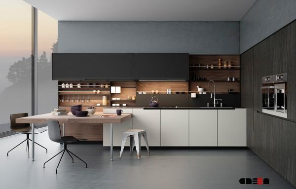 24 Gambar Dapur Minimalis Modern Desain Italia