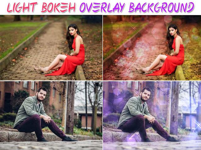 Light Overlay Background