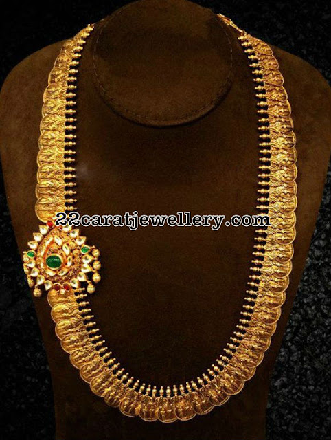 Long and Short Kasu Mala Designs