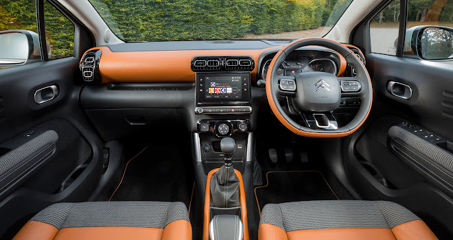 Citroen C3 Aircross Hype Colorado interior