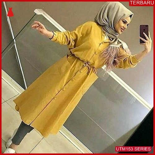 UTM153A81 Baju Aluna Muslim Tunik UTM153A81 099 | Terbaru BMGShop