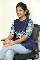 Eesha Looks super cute stunning in Denim Jeans and Top at Darsakudu movie Inerview ~  Exclusive 029.JPG