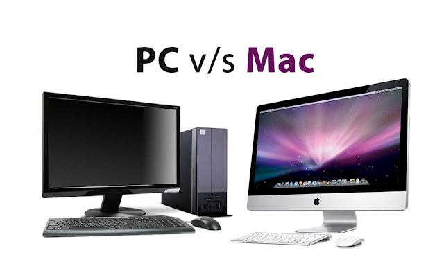 مقارنة بين الحاسوب العادي والماك + نظامي الماك والويندوز| مقارنة بين ويندوز والماك| مقارنة بين الحاسوب والماك