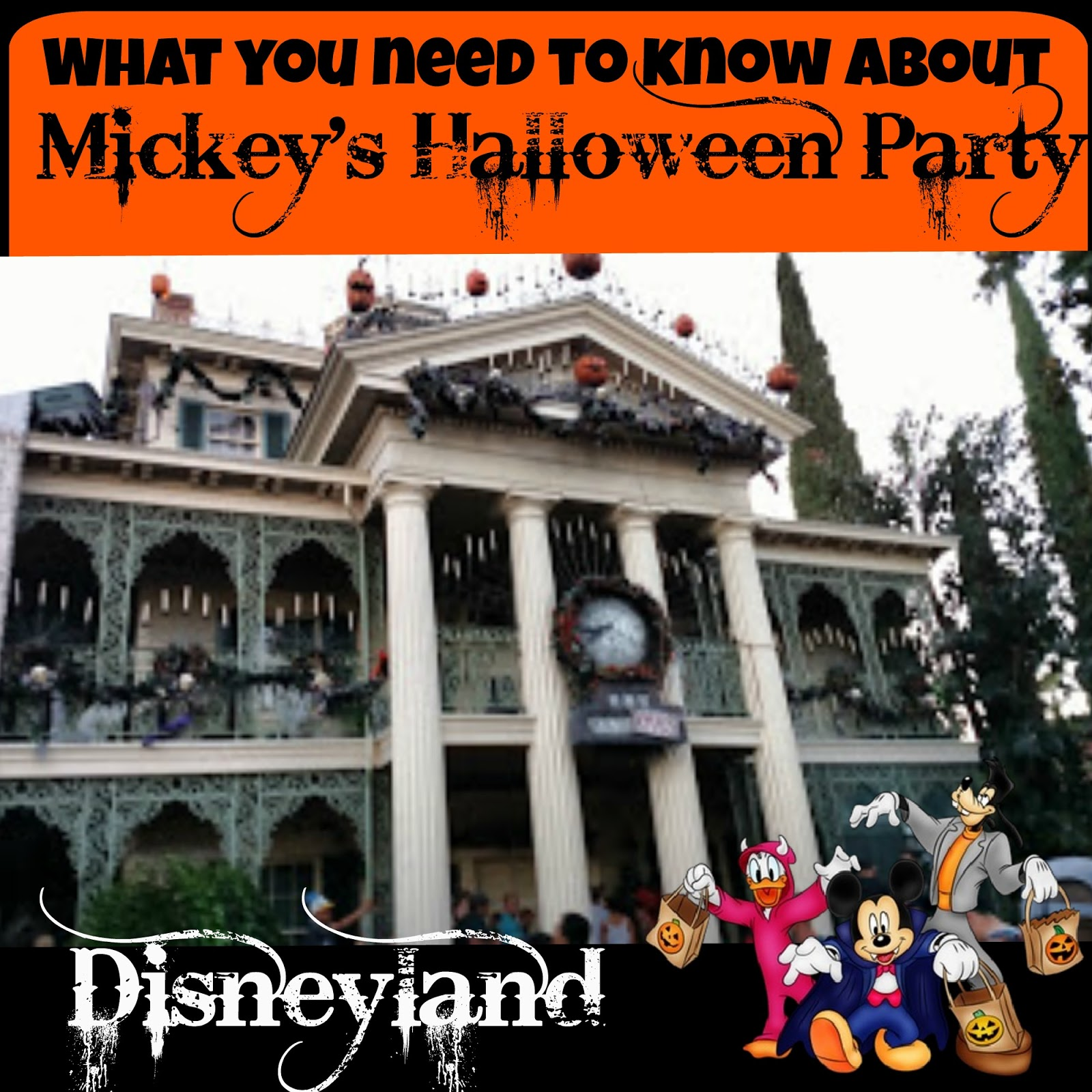 What you need to know about Mickey's Halloween Party in Disneyland ...