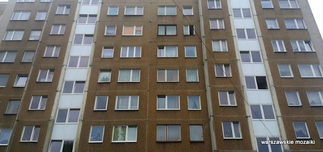 Warszawa Warsaw Kossutha Czumy bloki blokowisko mozaika wielka płyta architektura