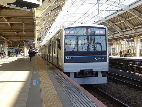小田急電鉄 準急 新宿行き5 3000形3色LED
