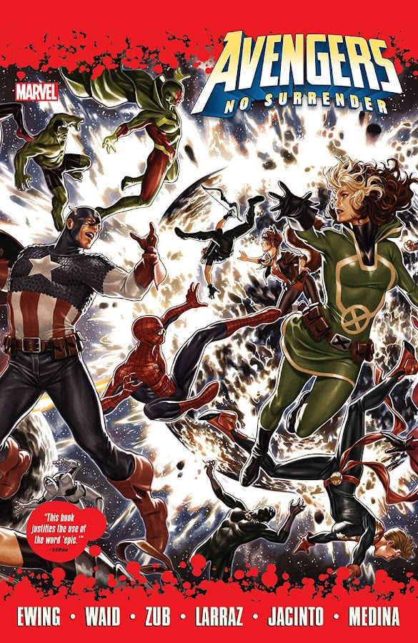 avengers no surrender marvel comics