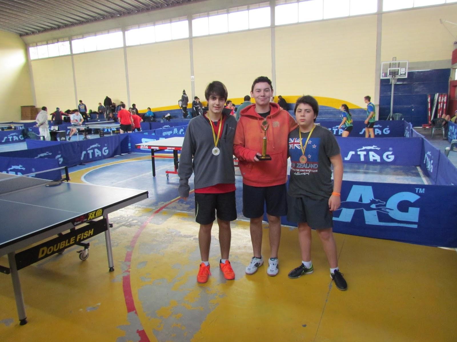 6574cfefd Federación Uruguaya de Tenis de Mesa  Torneo Metropolitano y Selectivo