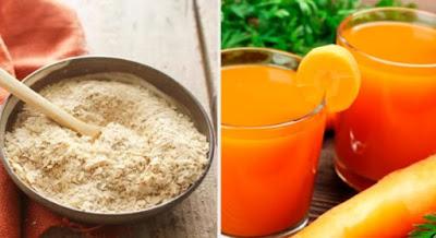 carotte et la levure de bière par manque d'appétit