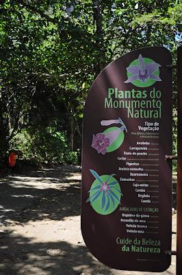 rio de janeiro trilha deixa de frescura pista claudio coutinho pão de açucar o que fazer fim de semana brasil inicio da trilha degraus facil