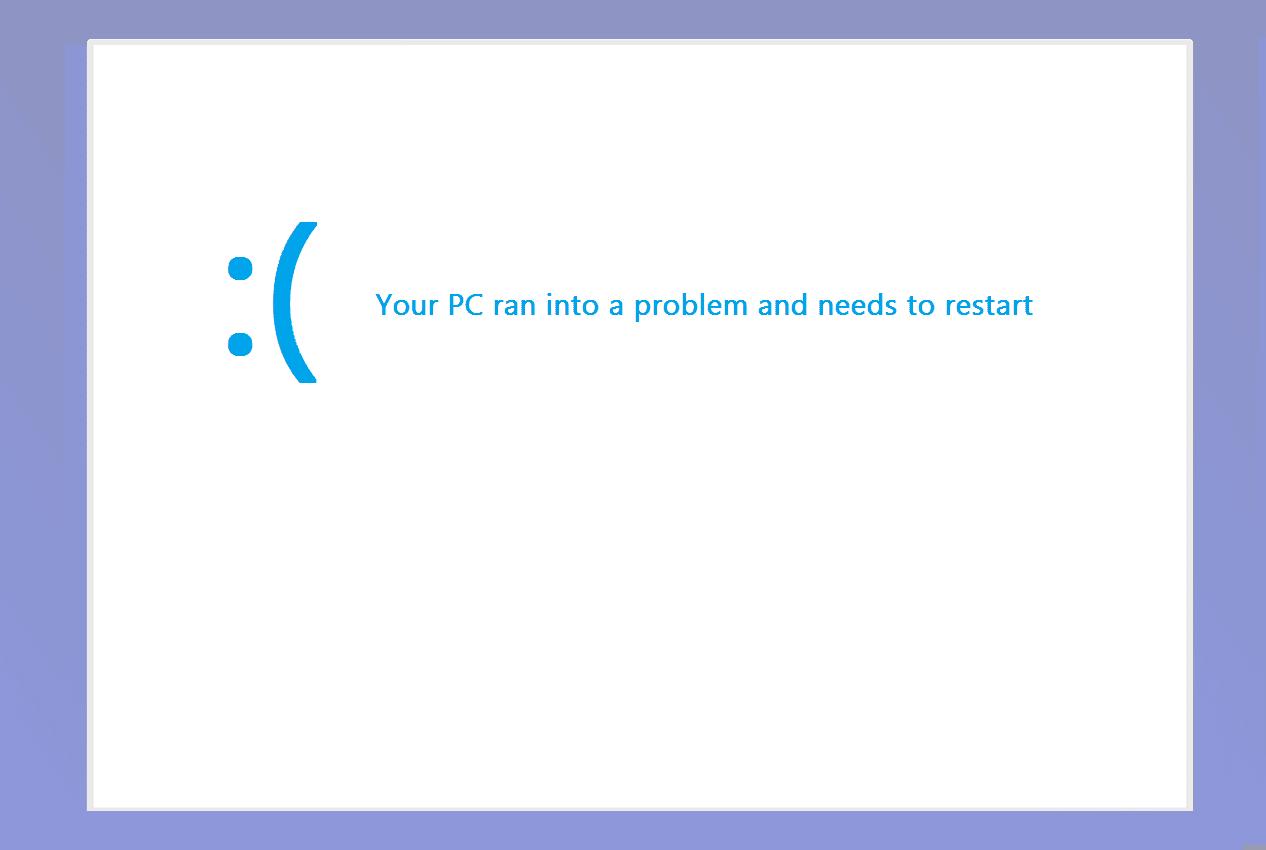 Blue Screen Windows 10