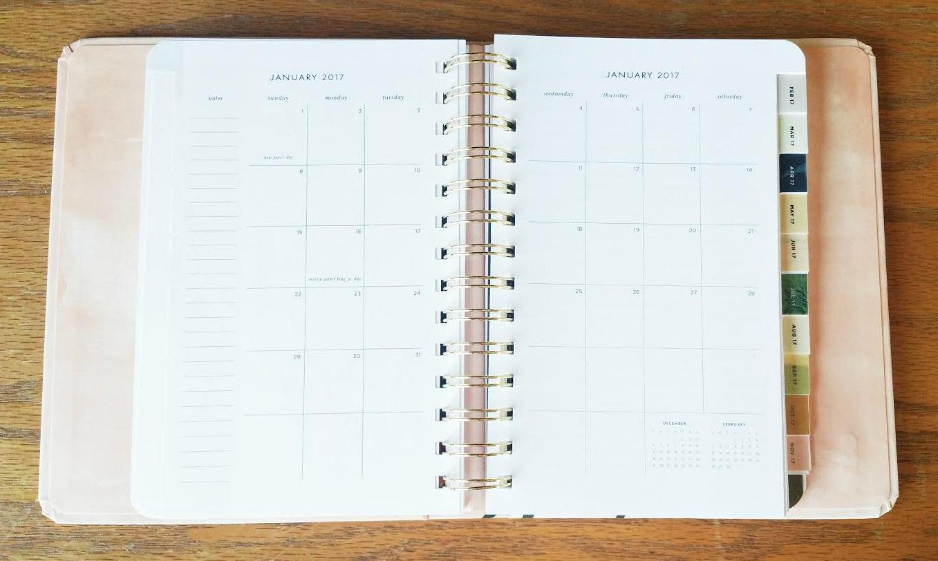 Kate Spade Calendar Planner : The kate spade month agenda read my lips edition
