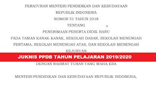 GAMBAR JUKNIS PPDB TAHUN 2019 SD SMP SMA SMK