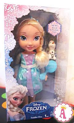 Обзор куклы Эльзы фирмы Jakks Pacific из коллекции My First Disney Princee Royal Reflection Eyes