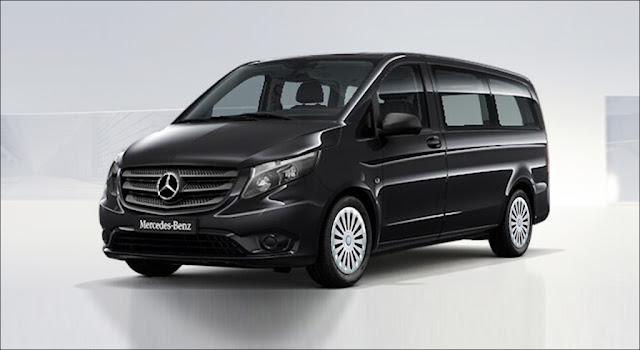 Mercedes Vito Tourer 121 2019 là phiên bản MPV máy xăng đa dụng với thiết kế 8 chỗ ngồi rộng rãi và thoải mái