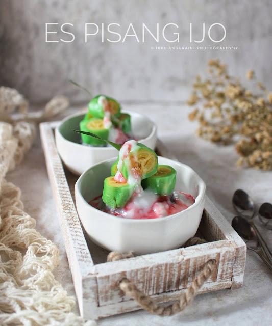 Resep Es Pisang Ijo By ikke145