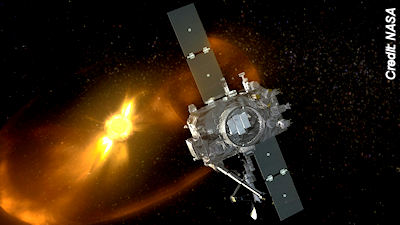 STEREO-B spacecraft