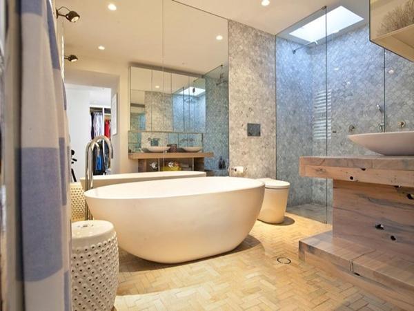 banheiro moderna