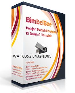 Resep sukses UN via Bimbelbee kursus digital terbaik pustaka lebah
