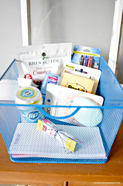 Treat the teachers in your life with a fun, and useful, Back to School Teacher Appreciation gift basket!