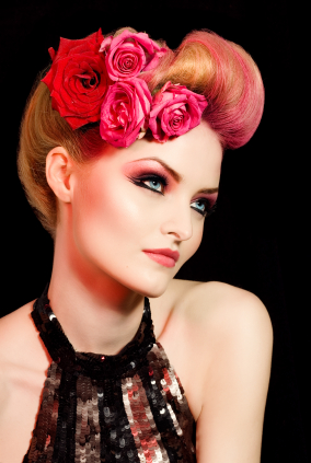 pin up style hair pin up hairstyles for hair the fashion styles 1826