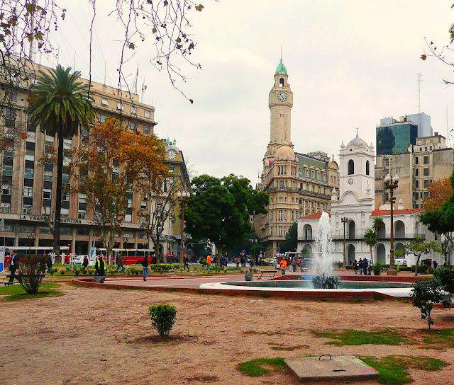 Plaza de Mayo y CaBILDO