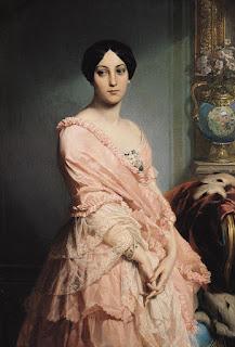 Edouard Louis Dubufe - Portrait of Madame F