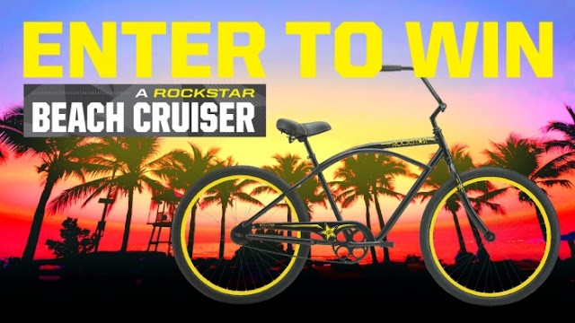 Enter to Win 1 of 10 Beach Cruisers!