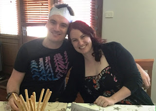 Our daughter Erin and son-in-law Luke