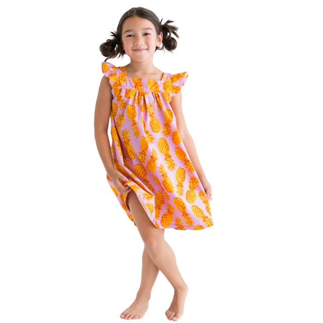 Stella Cove | Pineapple Dress | Chichi Mary Kid's Boutique