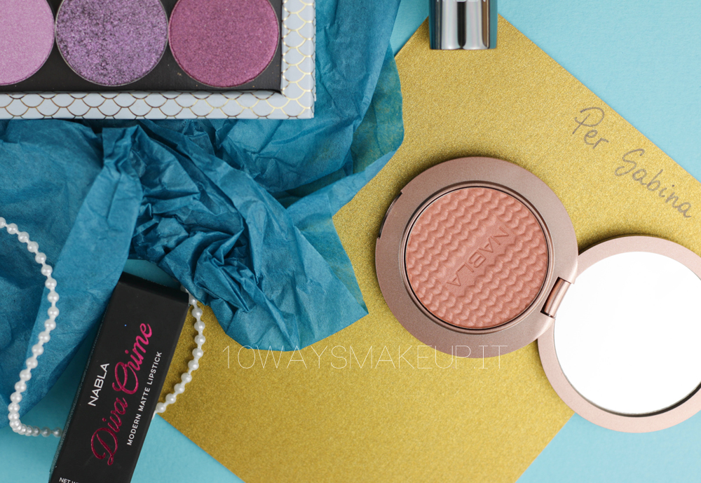 Nabla Mermaid Coralia Blush swatch