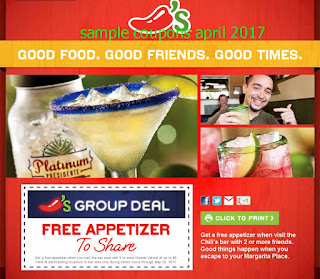 Chili's coupons april 2017
