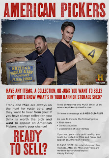 Mike Wolfe, Frank Fritz on American Pickers Show