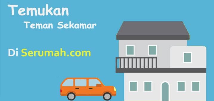 Temukan Teman Sekamarmu di Serumah.com