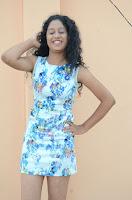 Actress Priyankha Stills in Floral Short Dress at Golmal Gullu Movie Pressmeet 0195.JPG