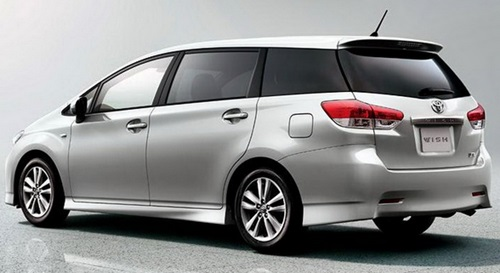 New Toyota Wish Snow White Elegant 2016