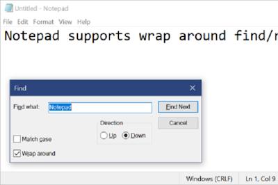 Notepad di Windows 10 Sekarang Mendukung Word wrap dan Zoom Teks