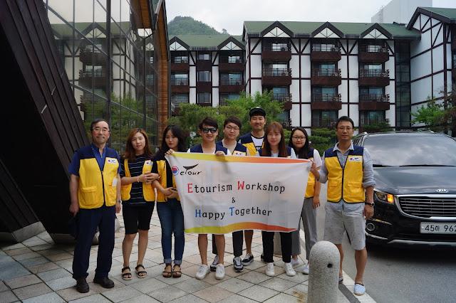 Etourism Korea Staff Trip