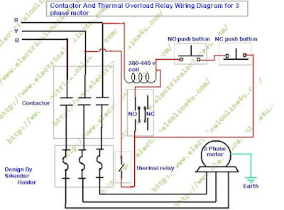 contactor%2Bwiring%2Bdiagram how to wire contactor and overload relay contactor wiring contactor and overload wiring diagram at n-0.co
