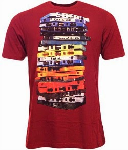 Cassette Stack T-shirt for Men