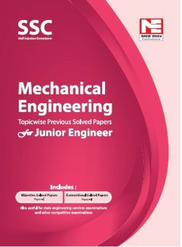 SSC JE Mechanical Engineering Made easy PDF