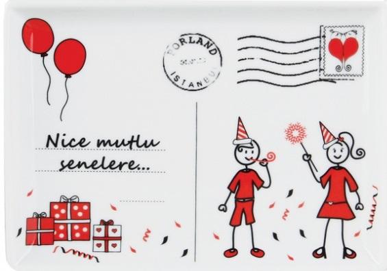 Aileden Birisi için Kartpostala Yazılacak Yazı